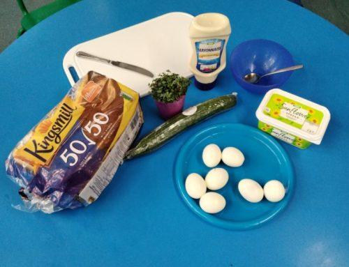 Egg & Cress Sandwiches
